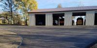 repaving driveway to garage